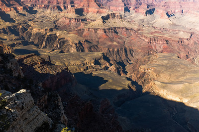 The Grand Canyon from Mathers' View.
