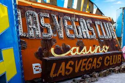 SIgns from The Neon Museum of Las Vegas.